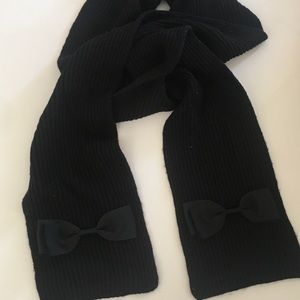 Kate Spade Knit Scarf with bows